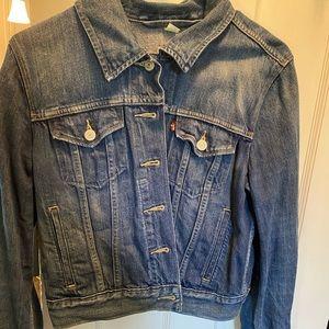 Levi Denim Cropped Jacket